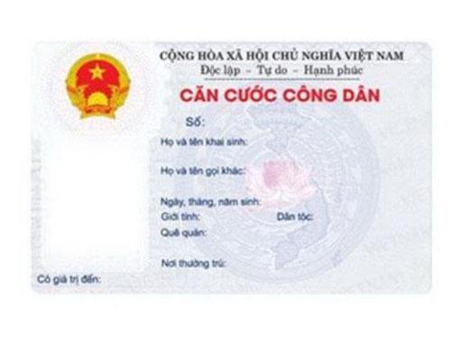 Hướng dẫn thủ tục làm thẻ căn cước công dân tại Hà Nội