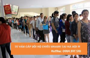 Hỗ trợ cấp đổi hộ chiếu nhanh tại Hà Nội - 0984.397.510