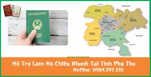 Hỗ trợ làm hộ chiếu nhanh tại Phú Thọ - 0984.397.510