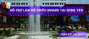 Hỗ trợ làm hộ chiếu nhanh tại tỉnh Hưng Yên - 0984.397.510