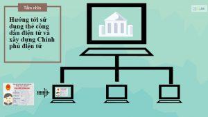 Căn cước công dân hướng tới sử dụng thẻ công dân điện tử và xây dựng chính phủ điện tử