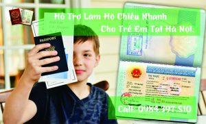 dịch vụ làm hộ chiếu nhanh cho trẻ em tại hà nội