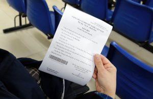 Nhận giấy hẹn ngày trả thẻ căn cước công dân