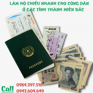 Hỗ trợ làm hộ chiếu lấy nhanh tại các tỉnh thành miền Bắc - 0984.397.510